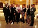 The CCAC All-PA Academic team meeting with Representative Dan Miller.