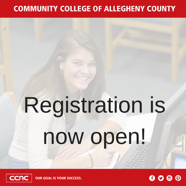 Get ready for fall 2020. Registration begins today!