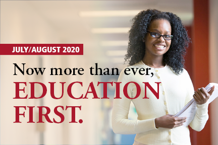 Now More than Ever, Put Education First